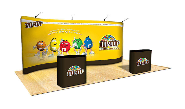 Tension Fabric Display S