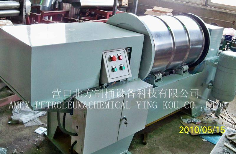 Leak Testing machine for Steel drum barrel making machine /drum production line 210L