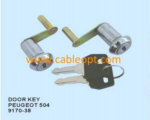 Door key for Peugeot 504
