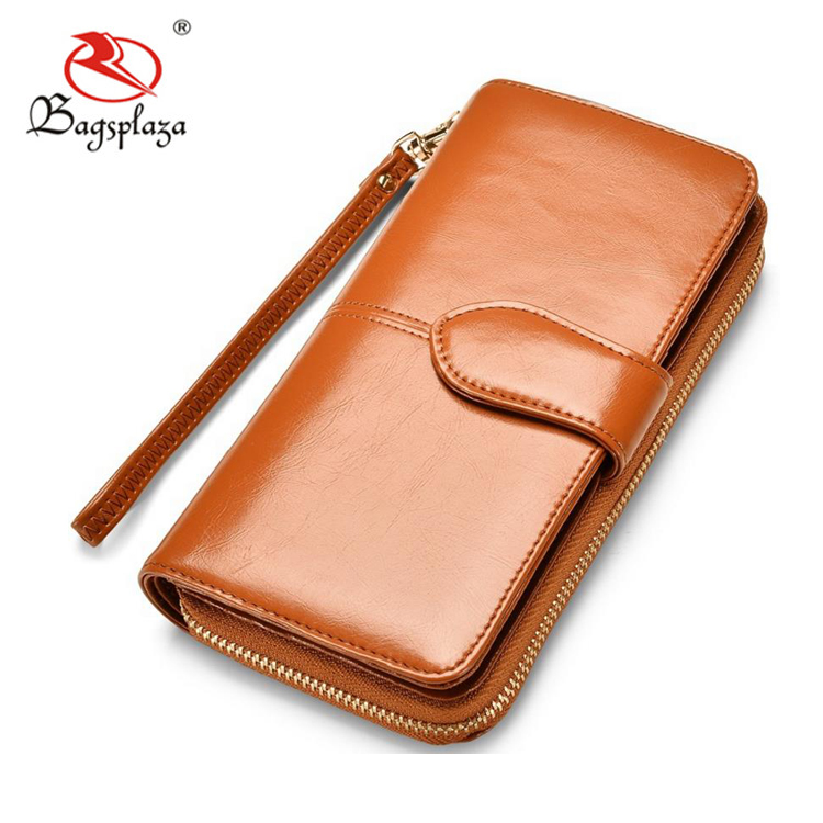 Guangzhou factory bottom price pu vintage leather woman wallet card holder