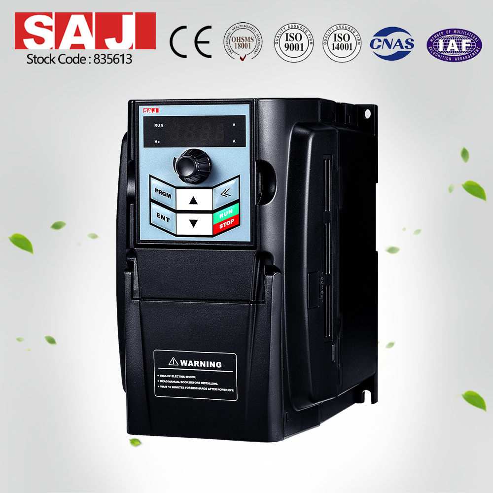 SAJ AC Vector Drive 2.2KW frequency inverter