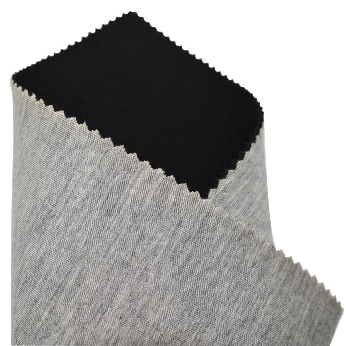 free catalog 3mm neoprene sheet SBR material laminate grey cotton spandex fabric breathable
