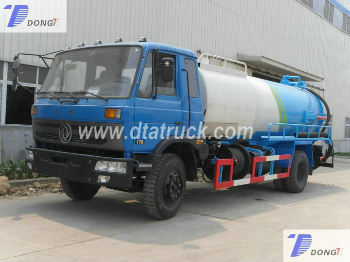DTA High Pressure jetting truck