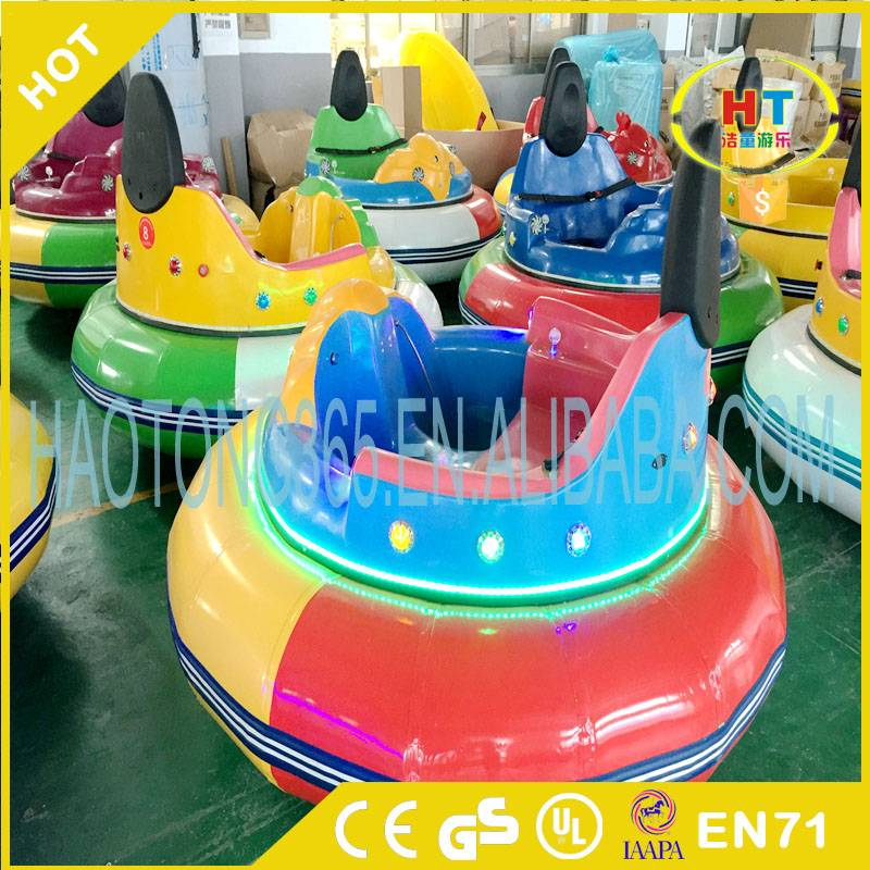 Amusement park ride inflatable UFO laser battle battery bumper car