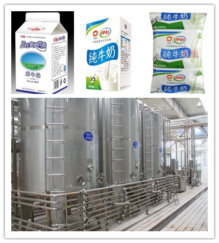 Dairy product processing line