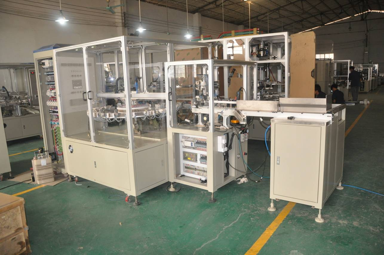 Dual Core Drilling Clearing Machine for AC capacitor