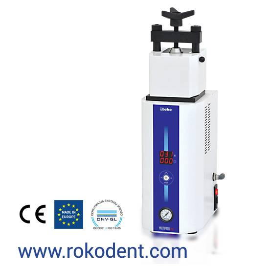 MULTIPRESS ECO Dental laboratory Injection machine for thermoplastic material dentures ROKO