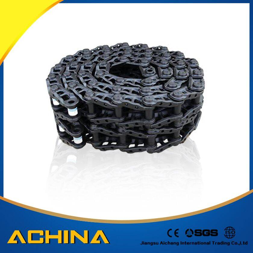 Excavator undercarriage parts rubber track linkin stock