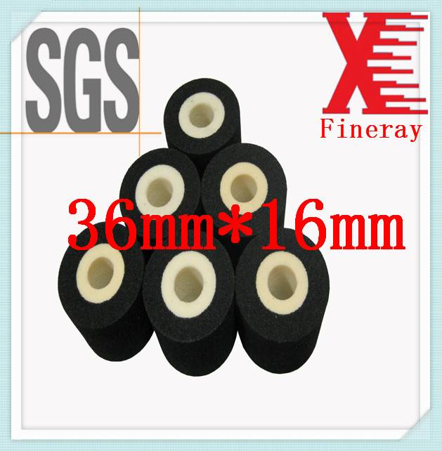 Printing Date XJ 36mm*16mm size for expiry date Black hot ink roller