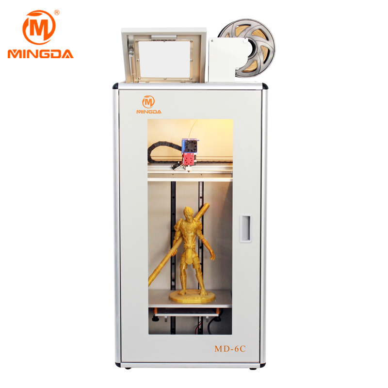 High precision 3d printer machine with 0.4 mm nozzle diameter for industry