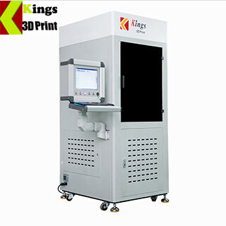KINGS4500-C Liquid Photopolymer Resin Sla 3D Printer Industrial Digital 3D Laser Print Machine