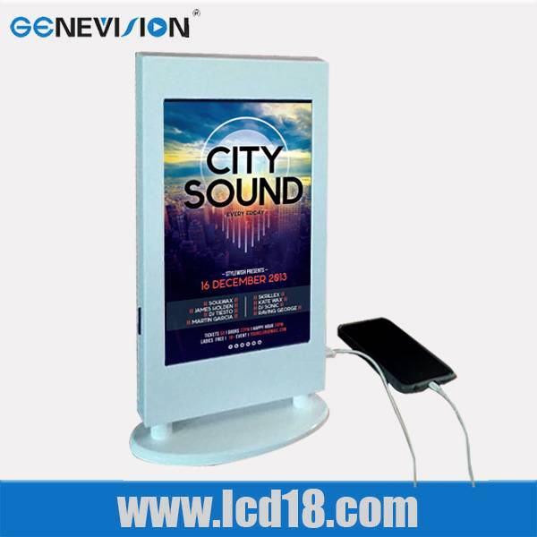 Small Size Elevator/bar Lcd Advertising Screen Wifi/3g Network Wall Mount Ad Player Digital Signage(