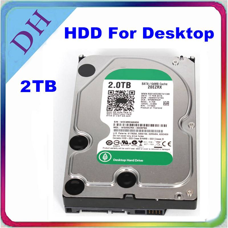 [hard drive 2tb] lowest price SATA hdd, 3.5'' internal hard drive for computers