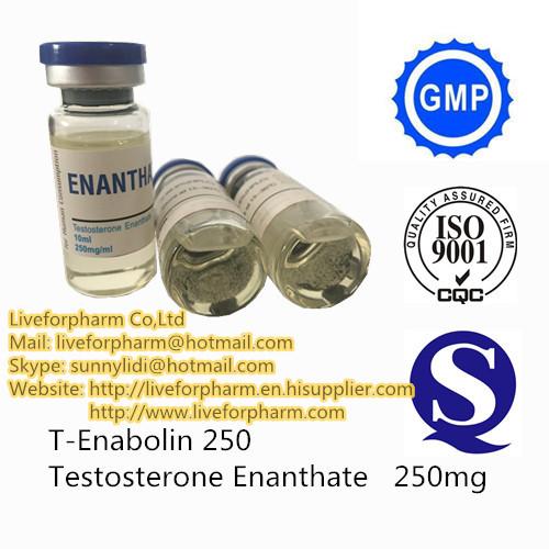 Testosterone Enanthate 250mg/ml 10ml/bottle CAS 315-37-7