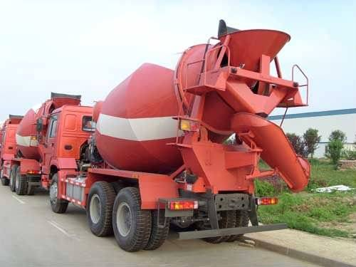 HOWO 6×4 Concrete Mixers