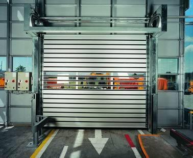 Aluminium rapid rolling door, fast door, high speed door