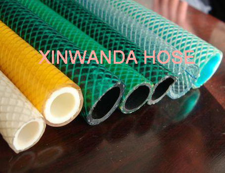 PVC Braided Reinforced Garden Water Hose