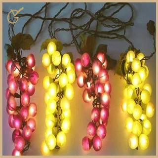 led grape string lights