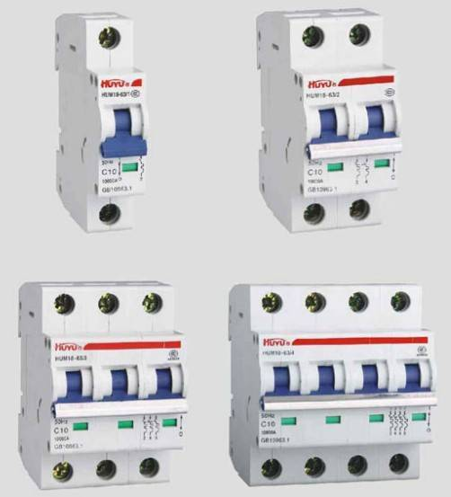 HUM18-63 Series Mini Circuit Breaker