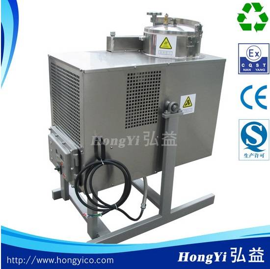 Organic chemistry solvent recycling unit