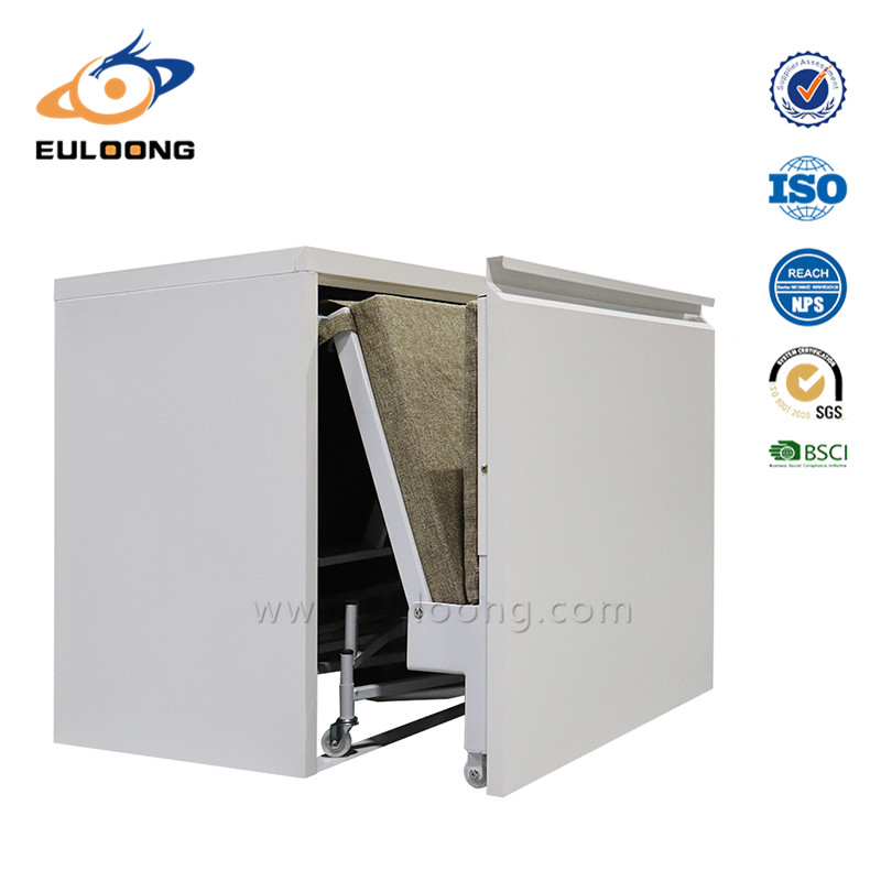 steel single folding bed