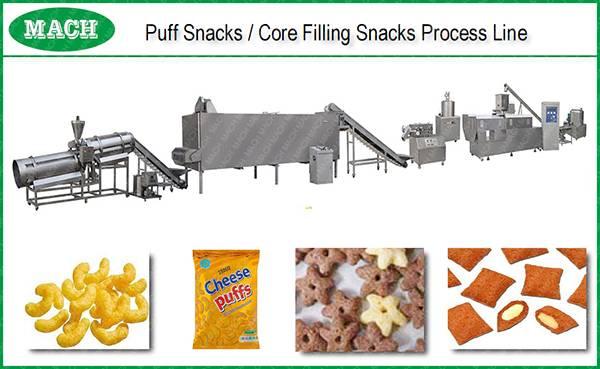 puffs corn snacks making machine