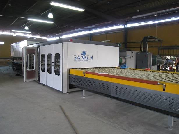 Horizontal Flat Glass Tempering Line