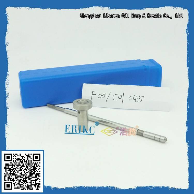Bosch fuel injector valve F00VC01045; UK ERIKC oil control valve F00V C01 045