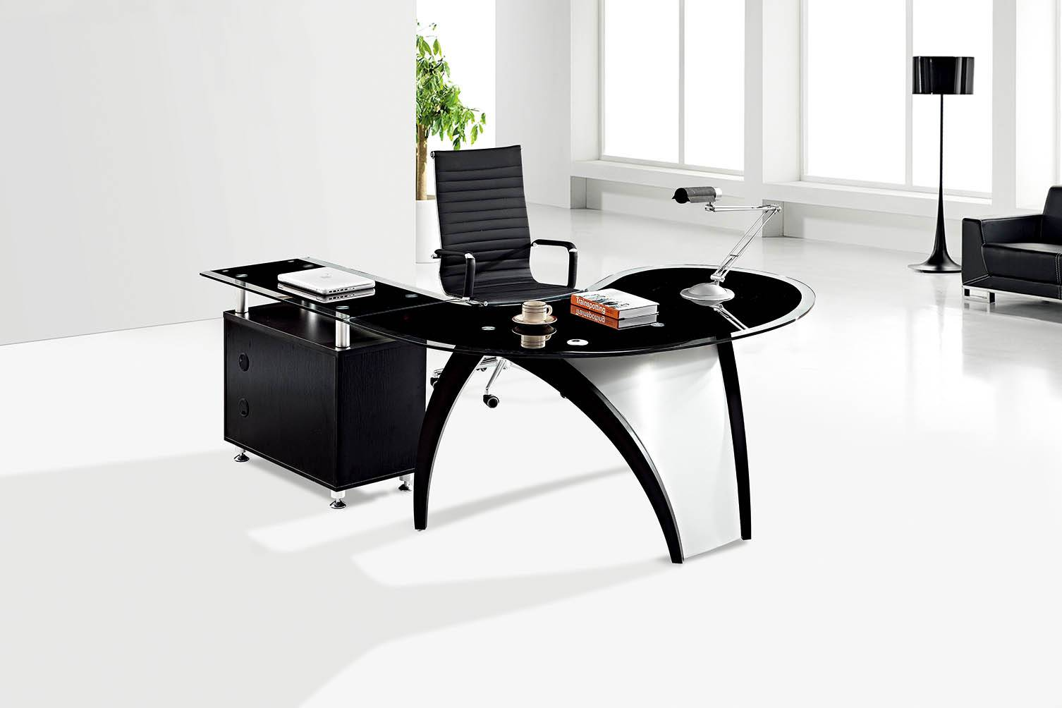 Modern Design L Shaped Office Furniture Executive Desk