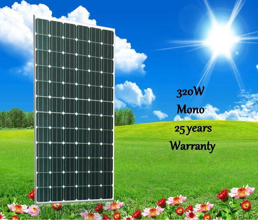 320w mono pv solar panel solar module
