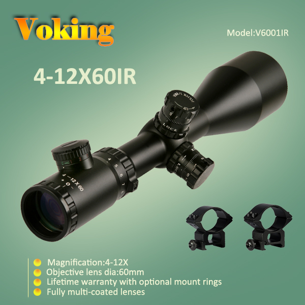 Voking 4-12X60 IR magnifier scope with your own APP