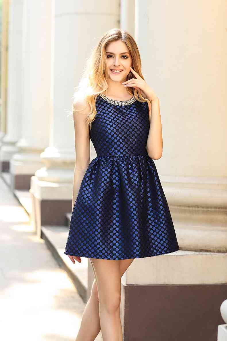 Latest design women's fashionable dress