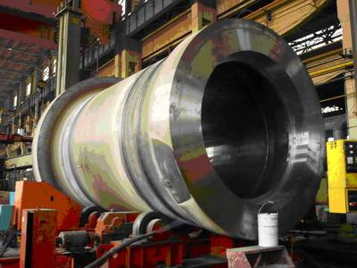 Turbine main shaft
