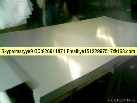 Mirror 201 Stainless Steel Plate