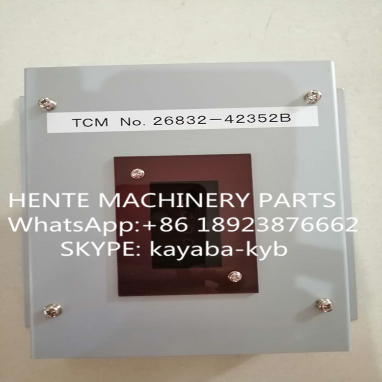 26832-42352B Computer panel, display panel for TCM  L32-3 WHEEL LOADER CAB