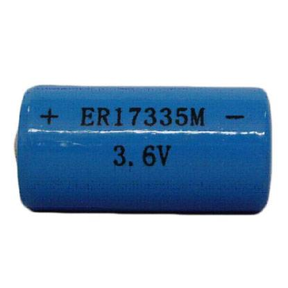 ER17335M 1500mAh 3.6V high power LiSOCL2 primary battery for medical instruments