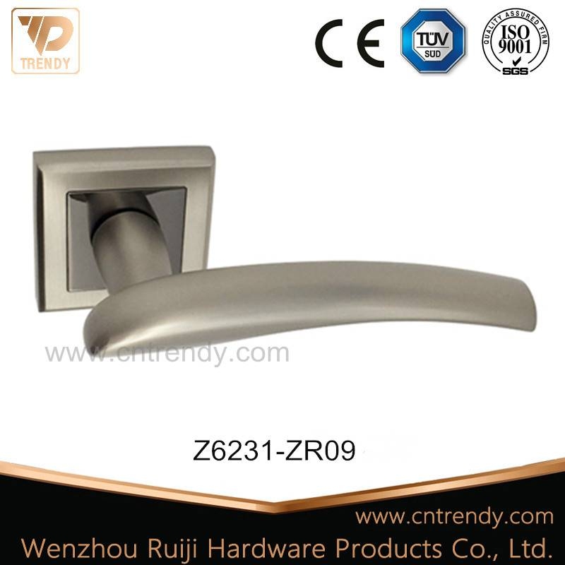 Hot Sales Classical Color Door Lever Handle on Rosette (Z6231-ZR09)