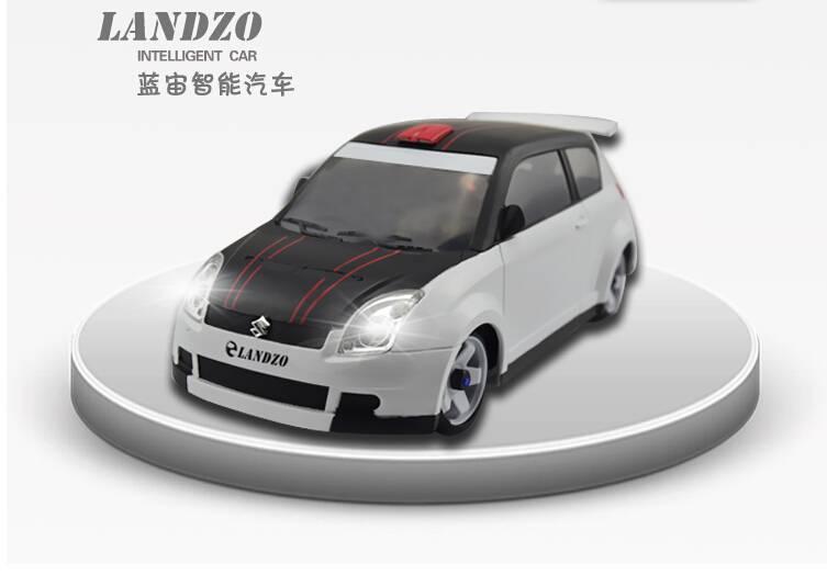 LANNI Intelligent Car_LANDZO Maker Space Series