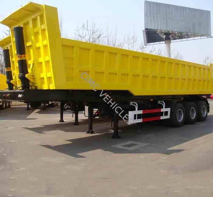 Dump Semi-Trailer 3 axles 42cbm