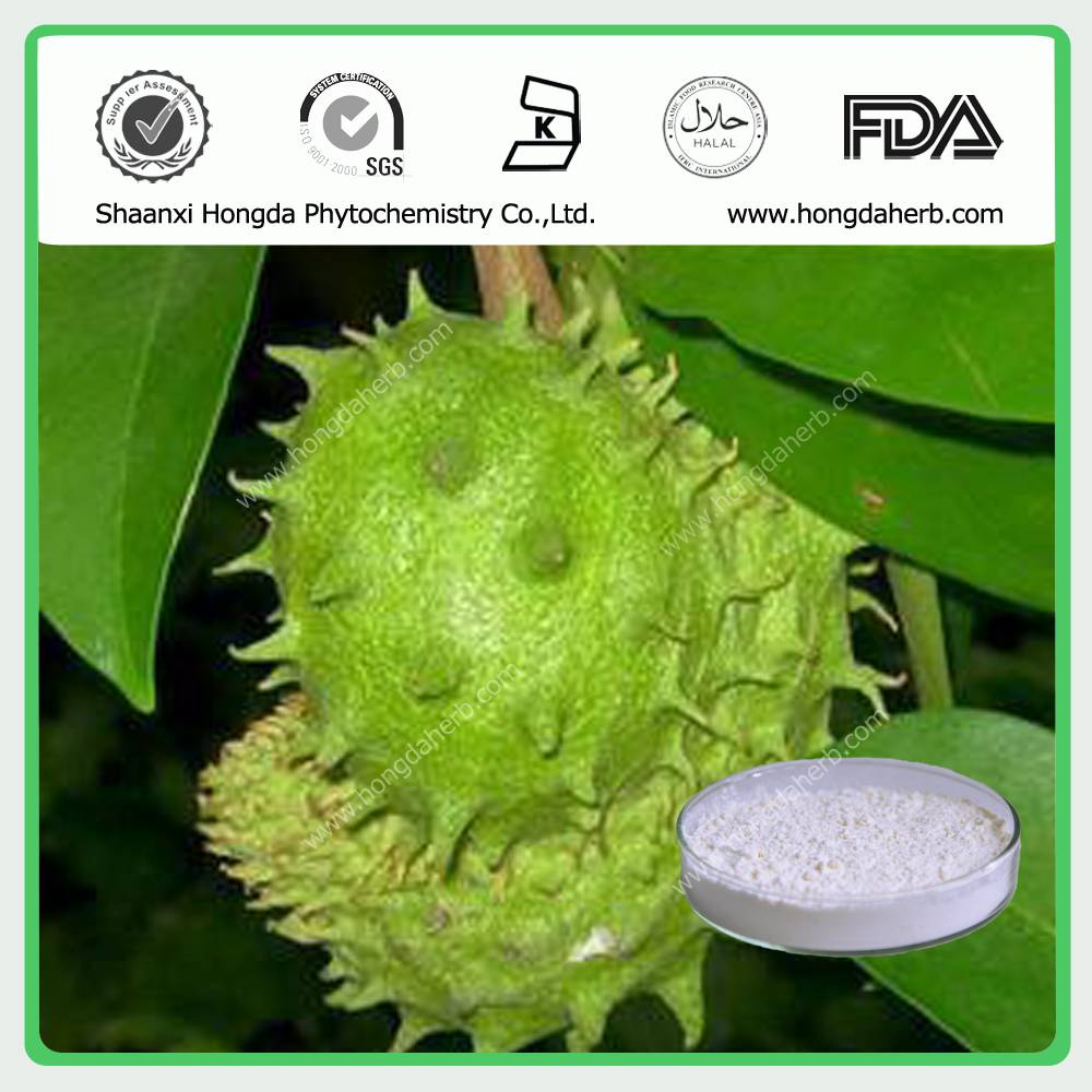 Graviola Fruit Extract/ Soursop Fruit Extract 100%pure powder 4:1