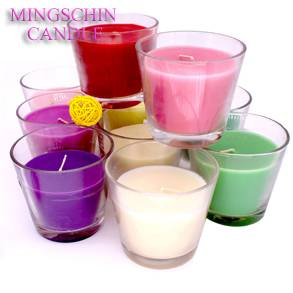 Mingschin Scented Colorful Jar Candle