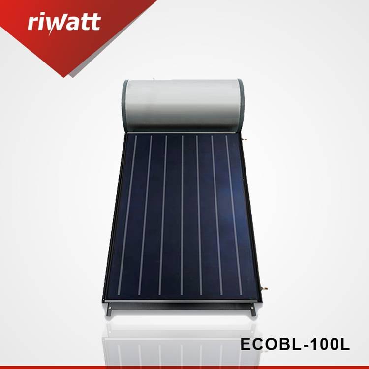 150l a presión la placa plana del calentador de agua solar