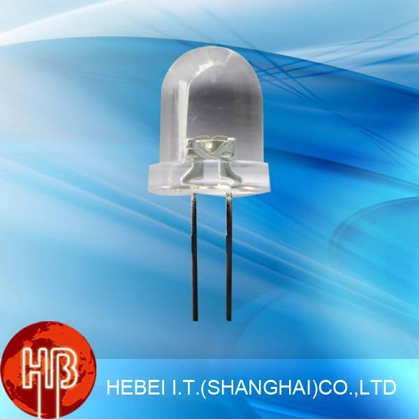 Blue 8mm Ultra Light Led Diode with 25 Degree 825LB7C
