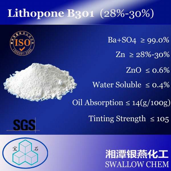 28%-30% Lithopone b301