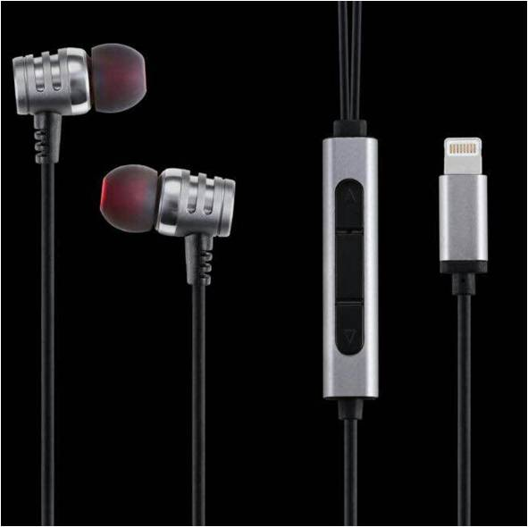 MFI Lightning 8pin earphone for Apple iPhone 7 and above