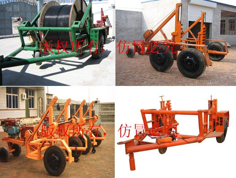 cable drum carriage,cable drum table