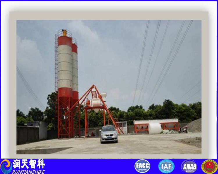 HZS60 Model runtianzhike concrete batching plant