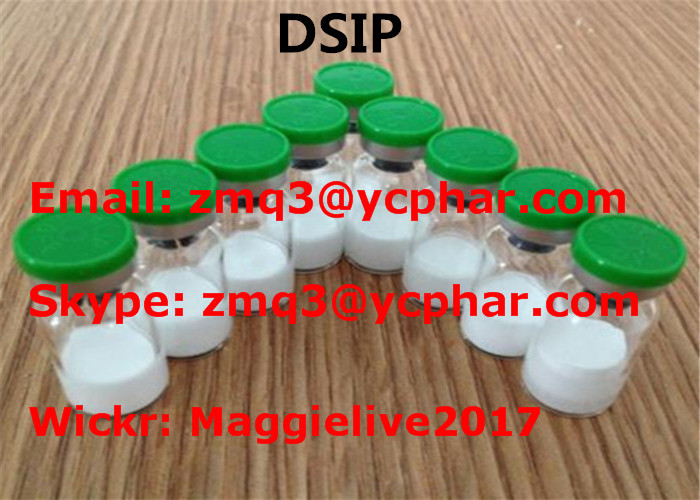 Muscle Building DSIP Peptides Delta Sleep Inducing CAS 62568-57-4 High Purity
