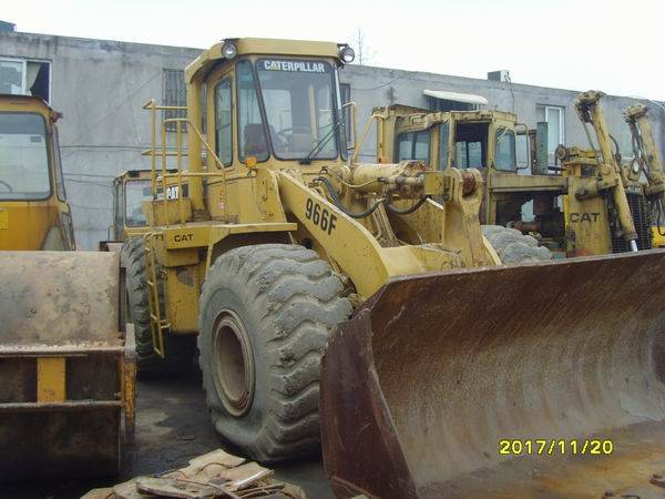 high quality used caterpillar 966F wheel loader for sale