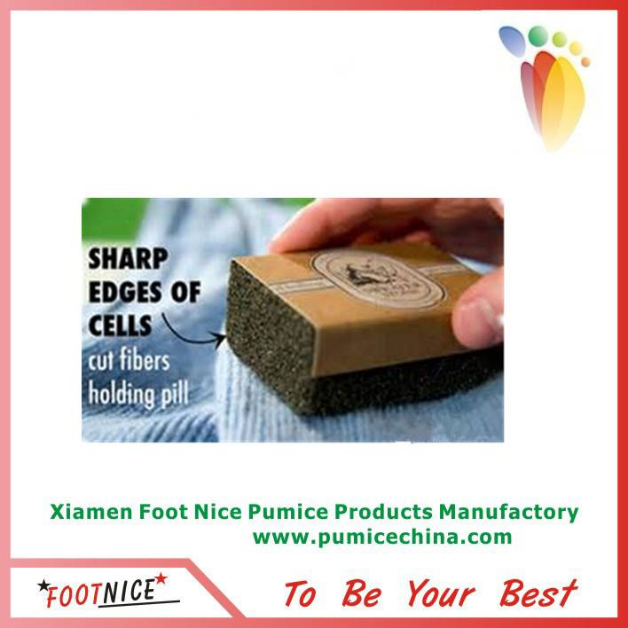 glass pumice sponges for sweater shaver to remove pilling